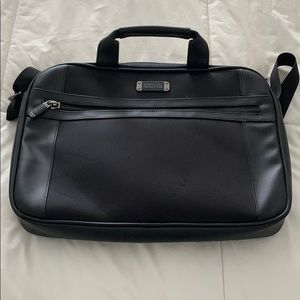 Kenneth Cole Reaction black laptop bag